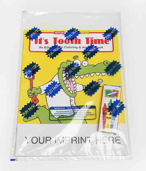 It's Tooth Time coloring