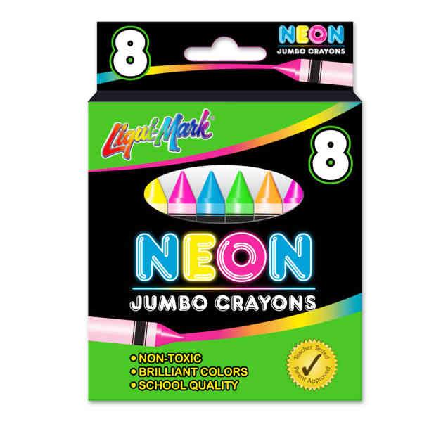 8 Pack Jumbo Neon