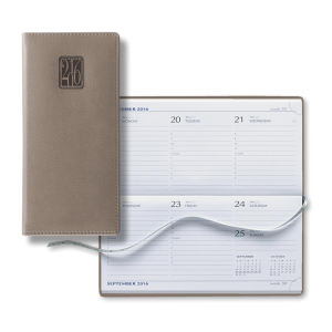 Dated pocket weekly planner