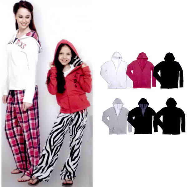 Youth-sized, clean cut hoodie