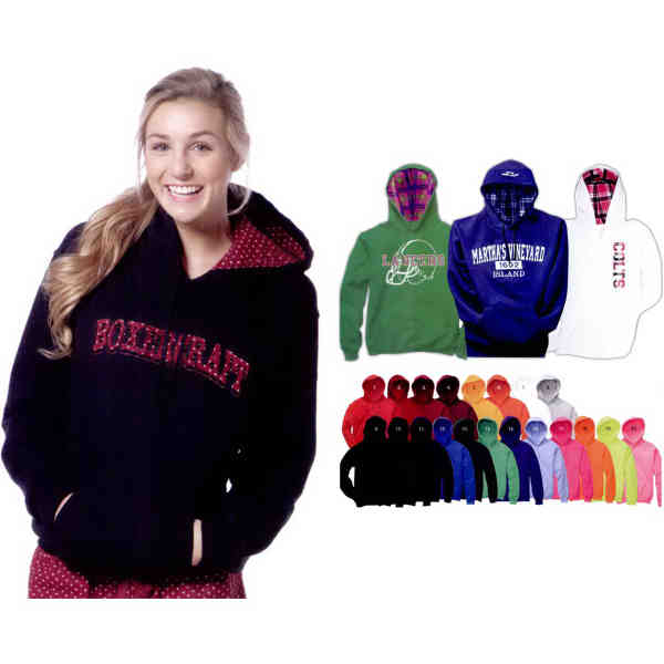 Youth-sized Unisex fleece hoodie