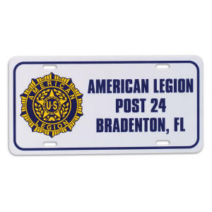 Promotional License Plates-LP55