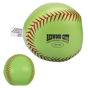 Softball pillow ball with
