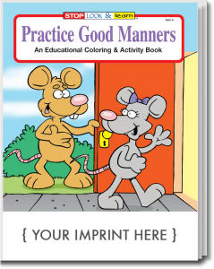 Promotional Coloring Books-0445
