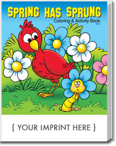 Promotional Coloring Books-0448