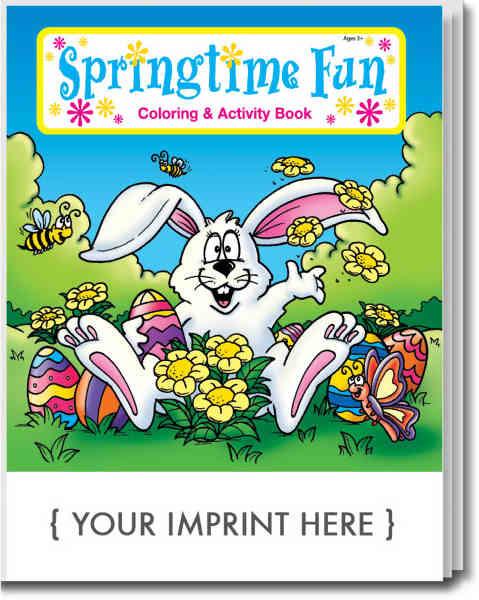 Springtime Fun coloring and