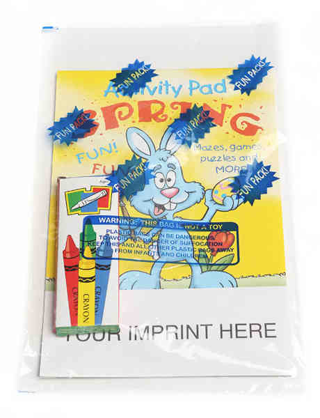 Spring activity pad fun