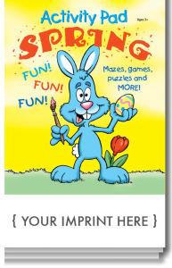 Spring activity pad with