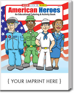 American Heroes everyday coloring