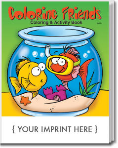 Promotional Coloring Books-0565