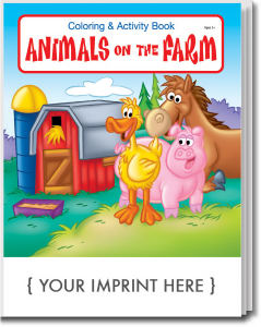 Promotional Coloring Books-0570