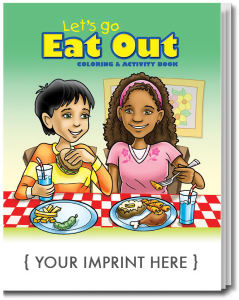 Promotional Coloring Books-0577