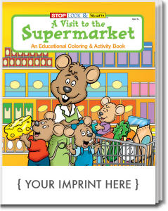 Promotional Coloring Books-0580