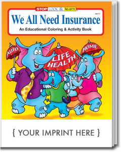 Promotional Coloring Books-0595