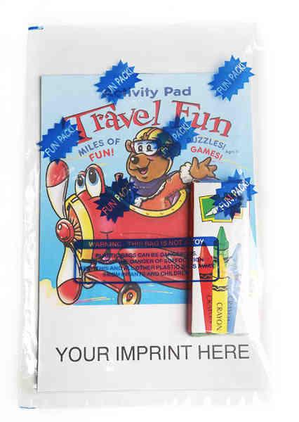 Travel Fun activity pad