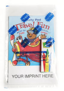 Travel Fun activity pad