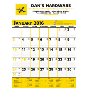 Promotional Contractor Calendars-371 PC961