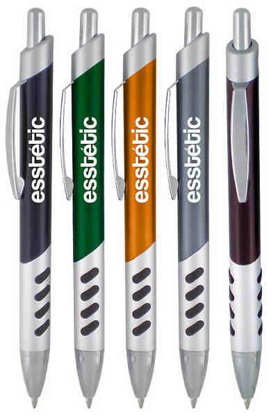 Plastic plunger action pen