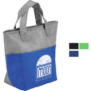 Insulated snack tote bag