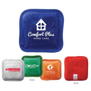 Plush square gel bead