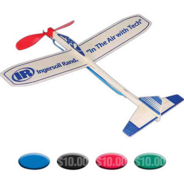 Balsa glider with 12