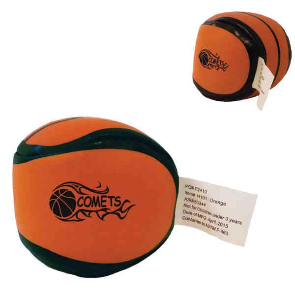 Basketball ball kick sack.