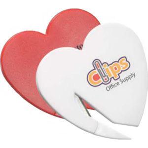 Heart letter opener.