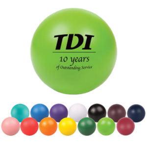 Round stress reliever ball,