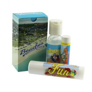 Promotional Travel Kits-SUNCARE-KIT