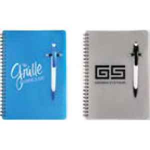 Matching pen and notebook