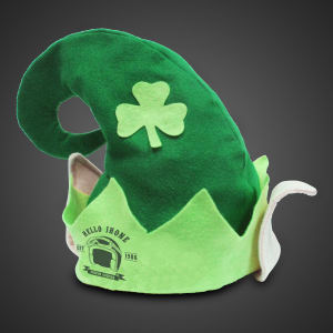 Our imprintable Shamrock hats