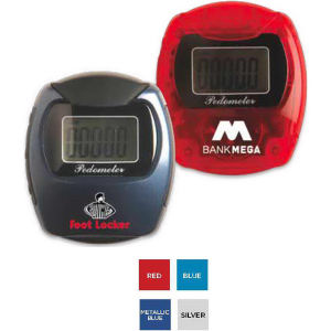 Pedometer that attaches easily