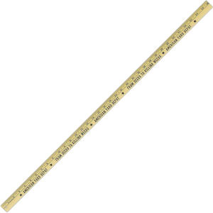 Promotional Rulers/Yardsticks, Measuring-261