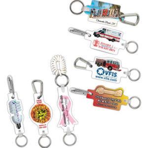 Key Clip w/ White