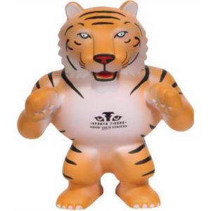 Tiger shape mascot stress