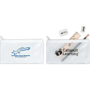 Promotional Vinyl ID Pouch/Holders-SPCT (EMPTY)