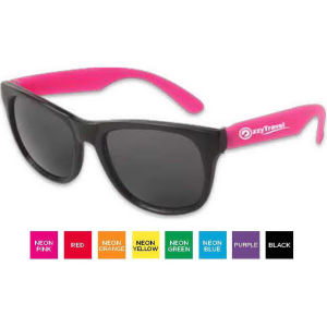 Sunglasses with ultraviolet protective