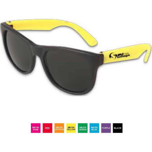 Neon sunglasses with dark,