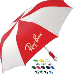 Auto open folding umbrella.