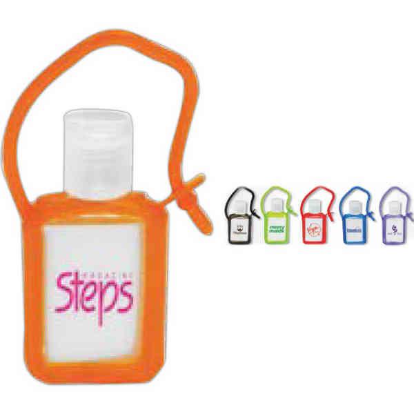 Hand sanitizer gel in