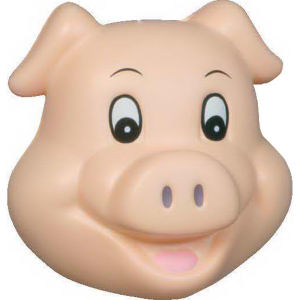 Pig funny face shape