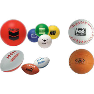 Promotional Stress Balls-BASEBL