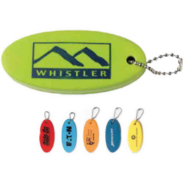 Keychain that floats in