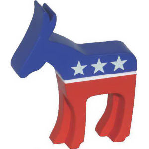 Democratic donkey shape stress
