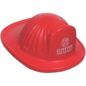 Fire helmet stress reliever.