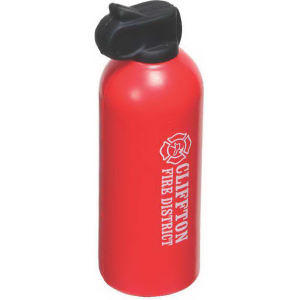 Fire extinguisher shape stress