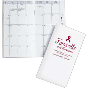 Monthly pocket planner with