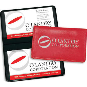 Business card case with