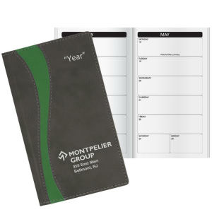 Promotional Pocket Diaries-W43693BW
