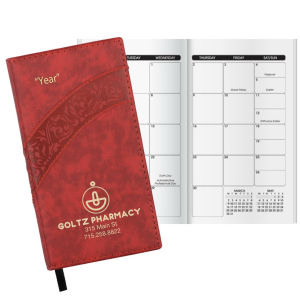 Promotional Pocket Diaries-W45116WM
